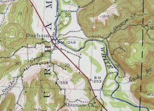 Details about 1943 Saint Paul Arkansas Elkins Fayetteville Area 15-minute  USGS Topo Map
