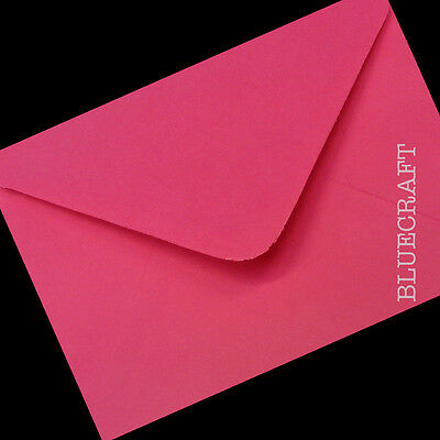 50 x C6 Greeting Card style Envelopes 6 x 4 inches - 114 x 162mm All colours