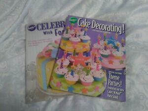 2 WILITON BOOKS CAKE DECORATING 2007 & CELEBRATE WITH ...