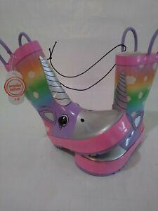 Wonder nation girls children/'s rain boots