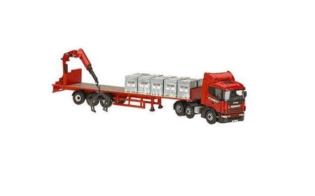 Corgi cc12217, scania - trailer & last, marley, baustoffe, 1  50