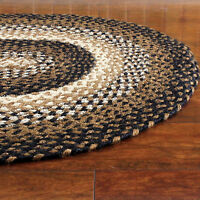 Homespice Vancouver Hudson Jute Braided Area Rug Country