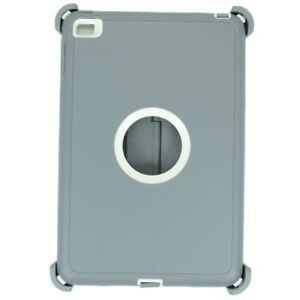 For-iPad-mini-4-Protective-Cover-Stand-Fits-Otterbox-Defender-Case-Gray-White