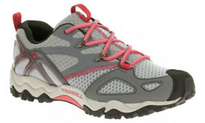 Up 7 Escursionismo Rider Uk Trainers Grey Light Walking Merrell 5 Lace Grassbow Mens PvRxY