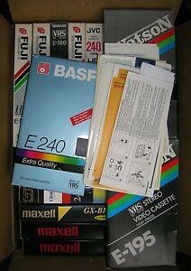 VHS-Videocassetten / VHS Kassetten (Nur Abholung! - Kein Versand!) - Deutschland - VHS-Videocassetten / VHS Kassetten (Nur Abholung! - Kein Versand!) - Deutschland