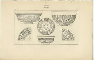 ANTIQUE POMPEII HERCULANEUM DESIGN DECOR ANCIENT ROME GREECE GRECIAN VASE PRINT