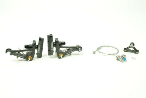 CR720 Cartridge Pads Tektro Cantilever Brake Black
