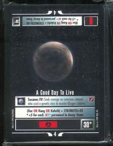 Star Trek CCG Blaze of Glory 50 card RARE Set