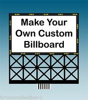 Custom Miller Engineering Animated Neon Sign O/ho Scale 88-2351