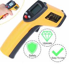 No Contact Lcd Ir Pyrometers Laser Infrared Thermometer Digital Temperature Gun