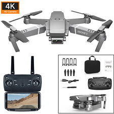 E68 Drone 4K HD Wide Angle Camera WiFi 1080P FPV Video Quadcopter / Battery MV