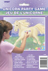 Unicorn Party Game with 16 Self-Stick Horns - 9088