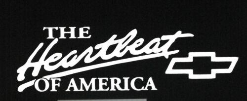 The Heartbeat of America Vinyl Decal Car Truck SUV Sticker 61066