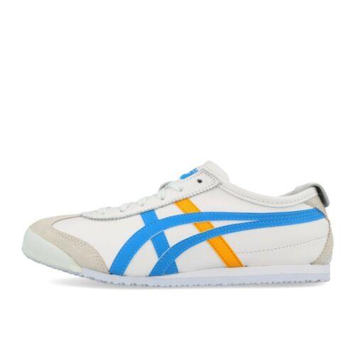 Onitsuka Tiger Mexico 66 White Azul Blue chaussures sneaker blanc bleu