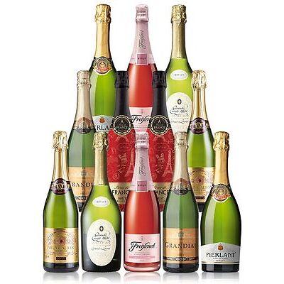 Big Sparkling Mix Dozen (12 Bottles)