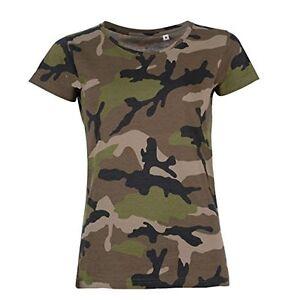 Imagen Está Mujer Camuflaje Militar Se Camiseta La Cargando Jungla Ejercito Aw4WaWx