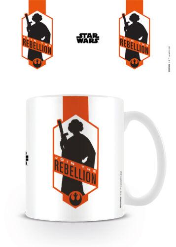 Con Licencia Oficial De Star Wars unirse a la rebelión Taza Princesa Leia Taza De Café