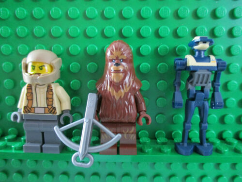 MINIFIGS LEGO STAR WARS  FIGURINES NEUVES  AU CHOIX TX-20  WOOKIEE   ETC...
