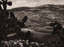 1925 Vintage SAMARIA Herod's Hippodrome Landscape ISRAEL Palestine Religion