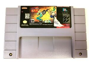 Earthworm-Jim-2-SUPER-NINTENDO-SNES-GAME-Tested-Working-amp-Authentic