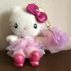 Hello-Kitty-USJ-Limited-Plush-Doll-Mascot-with-Charm-Sequins-2013-Sanrio-JP-F-S