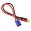 Ladekabel-EC5-Stecker-Male-4mm-Bananenstecker-iMax-Adapter-LiPo-Akku-30cm-14AWG Indexbild 1