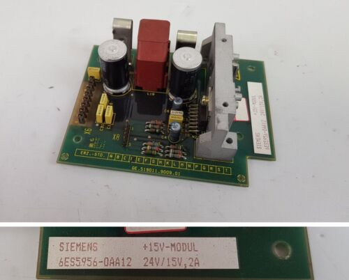PP6374 Siemens 6ES5956-0AA12 6ES5 956-0AA12