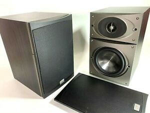 Phase-Technology-V-4-Bookshelf-Speakers-Set-of-2-With-Grill-Covers-USA