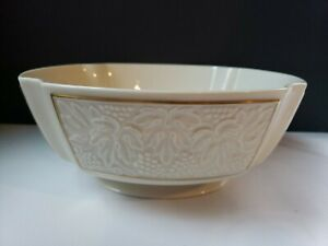 Bordeaux Collection By Lenox Footed Centerpiece Bowl Discontinued Pattern Ebay