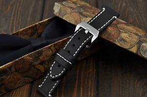 Handmade-Leder-Uhrenarmband-18mm-20mm-21mm-22mm-24mm-26mm-Watch-Band