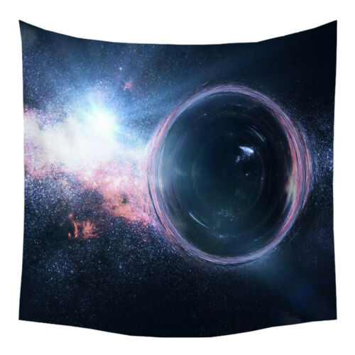 Tapestry Stylish Moon Stars Space Plane Creative Home Bedroom Wall Room Decor