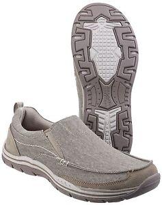 mens memory foam slip on shoes