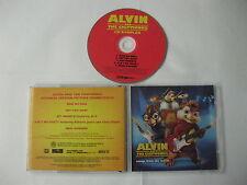 Alvin and the Chipmunks - songs from the movie CD sampler 5 tracks CD Disc