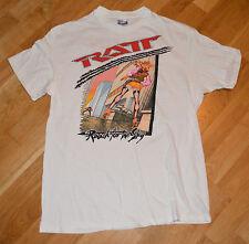 RaRe *1989 RATT* vintage rock concert t-shirt (L/XL) 1980's Tour LA Glam Metal