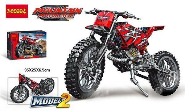 Mountain Motorcycle Building Blocks 3373 253 Pieces