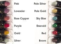 Saffron Glitter Lipsticks - 12 Shades - Sparkly!