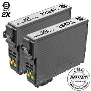 2PK-HY-Black-Printer-Ink-Cartridge-for-Epson-T288XL120-288XL-288-XP-446-T288XL