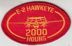 VAW-120 E-2 HAWKEYE 2000 HOURS OVAL PATCH | eBay