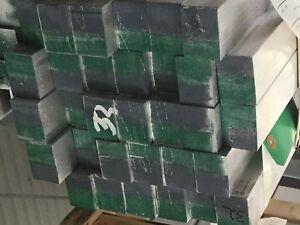 1-1//4 x 1-3//4 x 36 Long 4 Pcs of 7068-T6511 Aluminum Alloy Bar