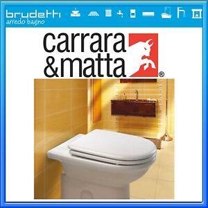Sedile Wc Carrara Matta Compatibile Ideal Standard Esedra Copriwater Legno Ebay