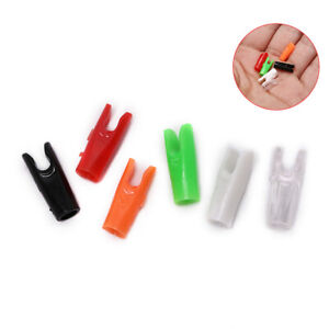 Set of 20pcs Archery Arrow Nock Pins Pin  Adapter Bushing 6.2mm Shaft