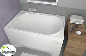 Das Bild Wird Geladen Badewanne Kleine Wanne Rechteck 110 X 70 Optional