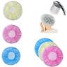 6Pcs Women Lady Waterproof Elastic Cute Dots Shower Bathing Salon Hair Cap Hat