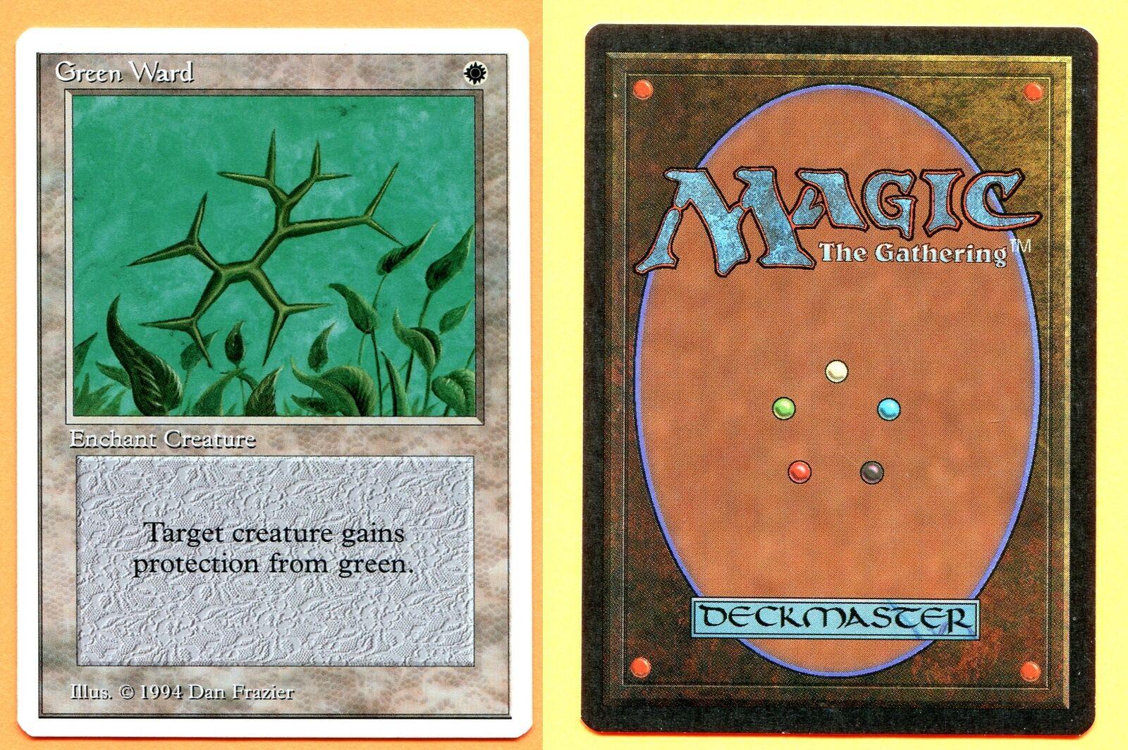 Green Ward (Summer Magic (Edgar)) MTG CCGHouse Magic