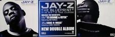 JAY-Z 2002 blueprint 2 BIG 2 sided promo poster!!~MINT CONDITION~NEW old stock~!