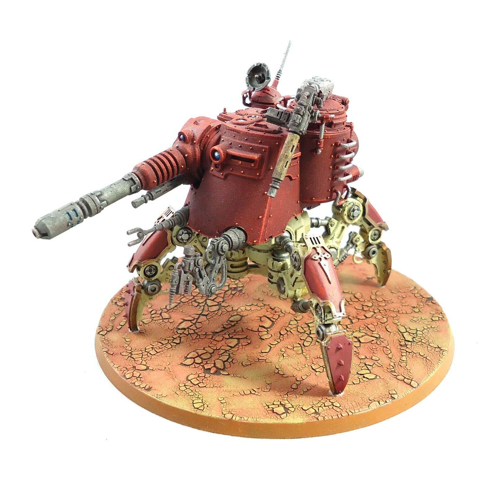 Warhammer 40k Armée Adeptus Mechanicus DUNECRAWLER PAINTED AND BASED