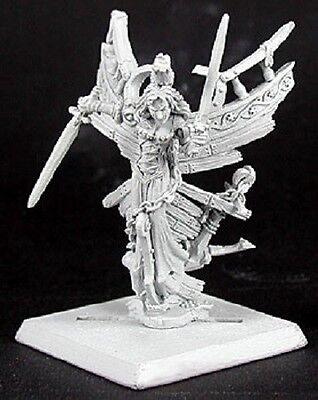 Dark Maiden Razig Solo Reaper Miniatures Warlord Undead Pirate Ghost Figurehead