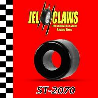 St 2070 1/64 Ho Scale Slot Racing Car Tire For Tyco Magnum 440-x2 - Rear Wheels