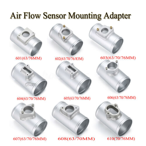 Air Intake Flow Sensor Meter Adapter Mounting MAF Tube Car For Ford VW Subaru