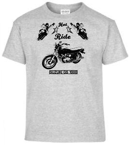 YOUNGTIMER Vélo T-shirt SUSUKI GS 1000 G Moto Oldtimer